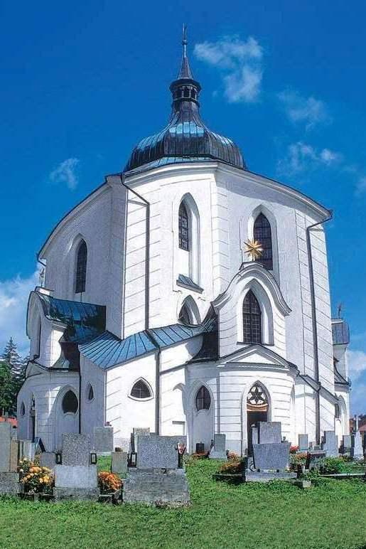 Žďárký průvodce - Zelená Hora kostol – výrez