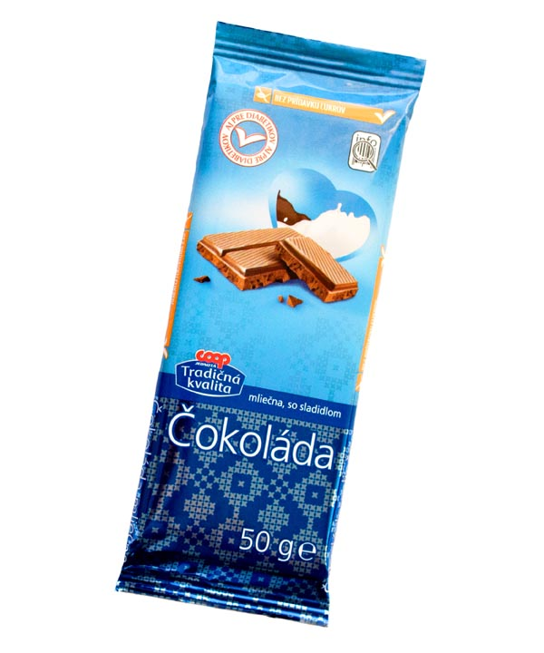 299 COOP mliecna cokolada 50 g