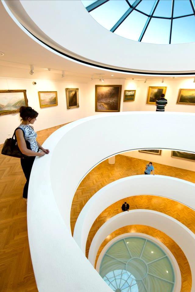 Galeria Nedbalka schodisko