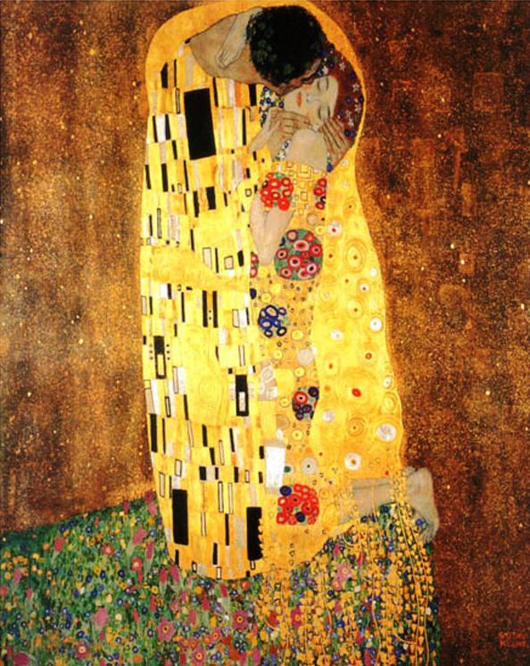 Gustav Klimt - Bozk