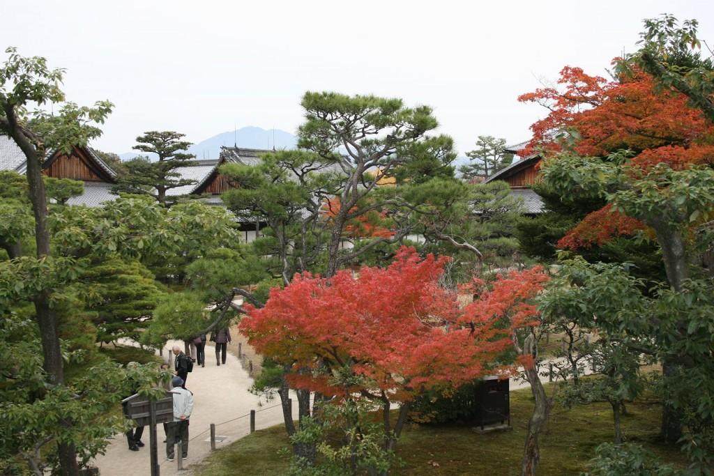 Kyoto - cisárska záhrada