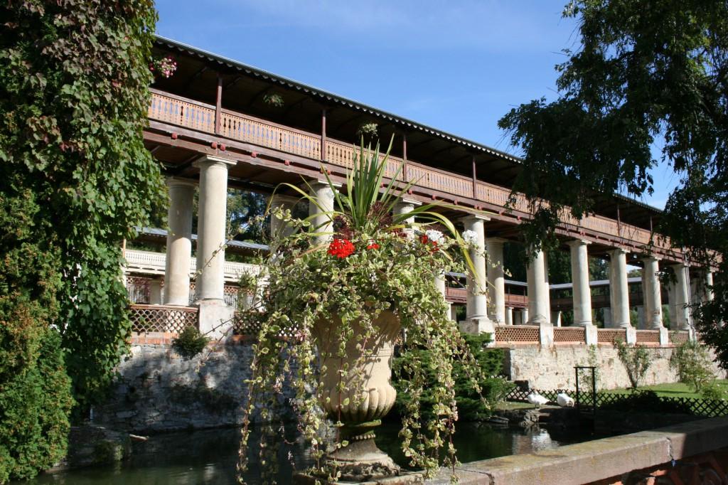 LIBER Lysice fontána