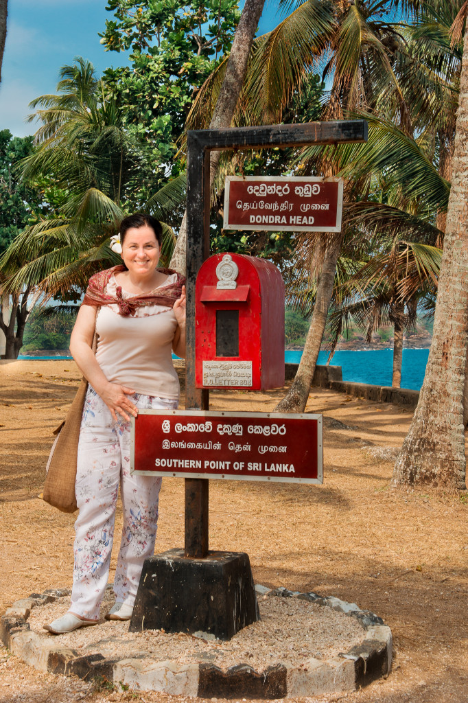 LIBER Srí Lanka Dondra - ICH a najjužnejší bod