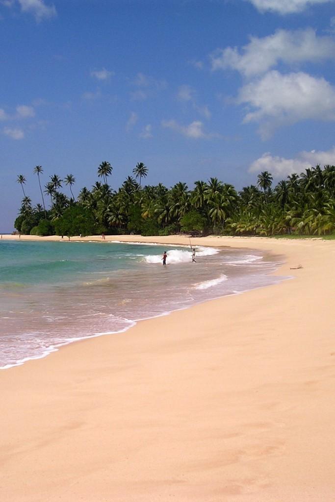 LIBER Srí Lanka - Koggala pláž 2004-12-02