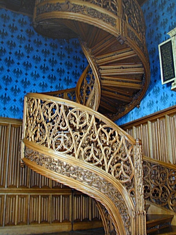 Lednice - schody