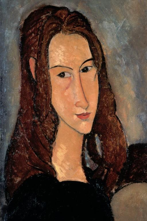 MODIGLIANI Porträt der Jeanne Hébuterne - Wikipedia