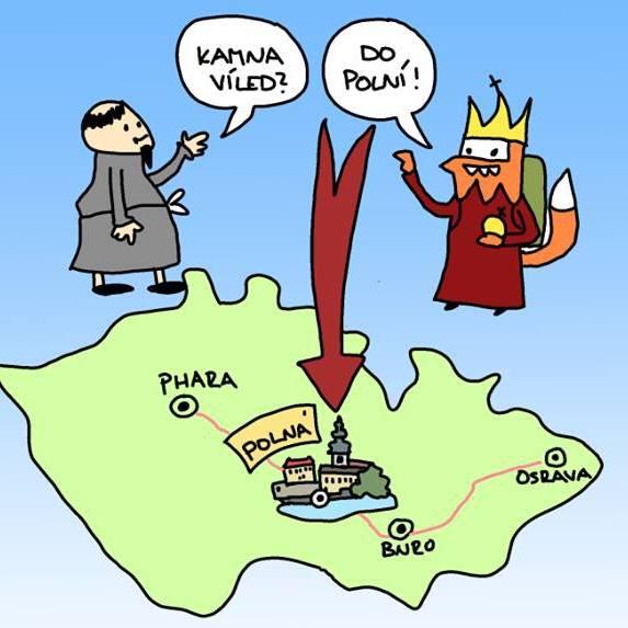 POLNÁ - Kam na výlet