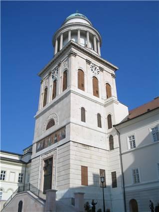 Pannonhalma - veža baziliky