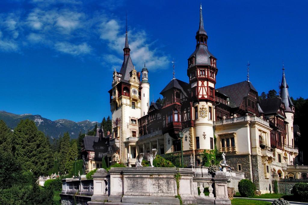 Rumunsko - Castelul Peles - Wikipedia