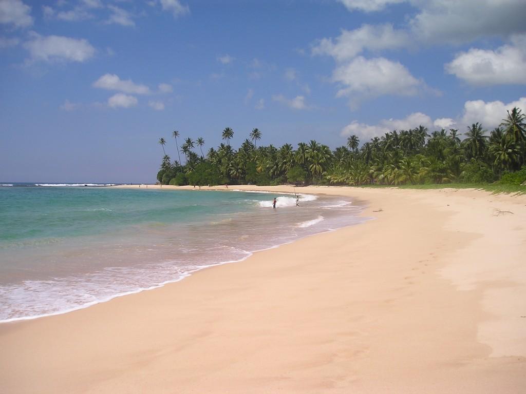 Srí Lanka - Kogalla pláž