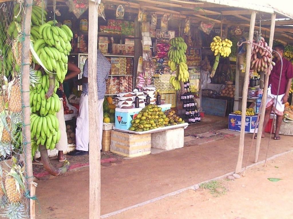 Srí Lanka - Kogalla stánok s ovocím