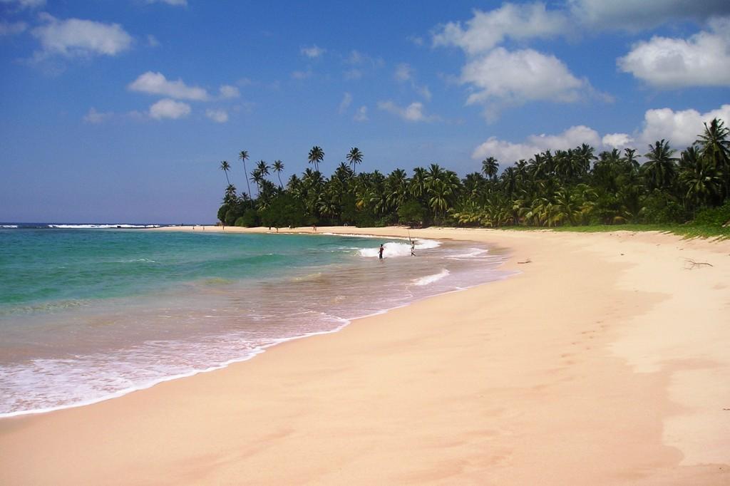 Srí Lanka - pláž Koggala 2004-11 (405)