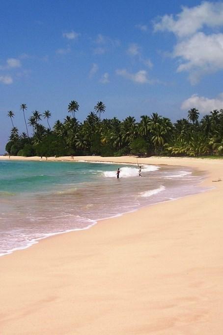 Srí Lanka - pláž Koggala 2004-11