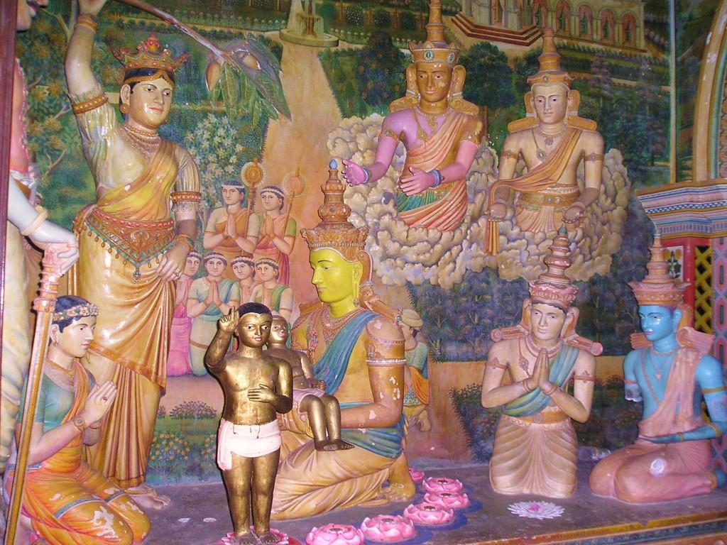 Srí Lanka - súsošie narodenia Budhu