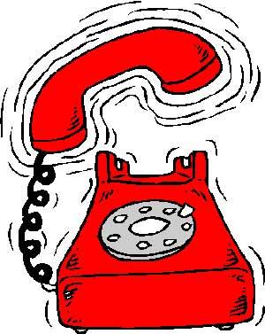 TELEFÓN červený