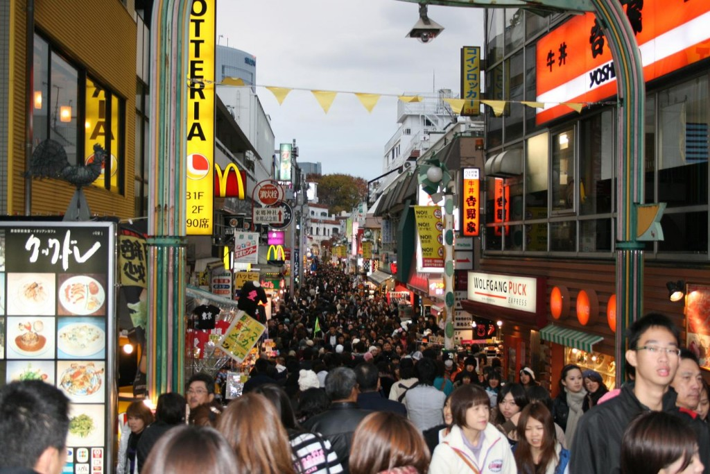 Tokyo - Harajuku = obchodná ulica