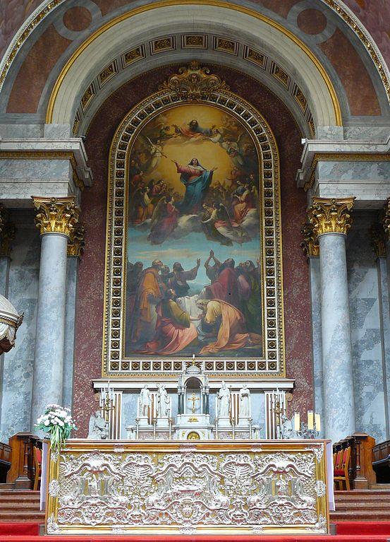 Wiki Esztergom_basilica_altarpiece_Hungary