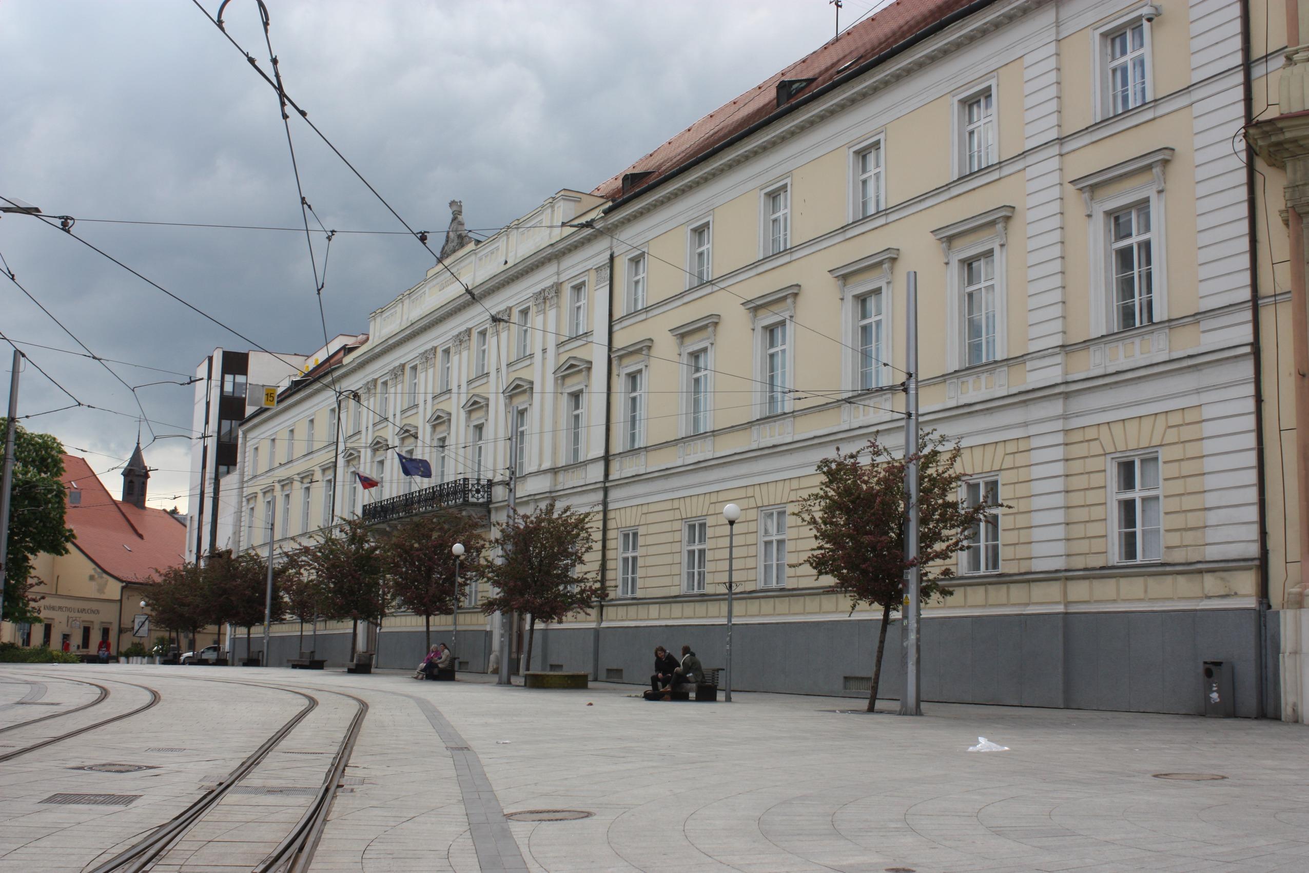 Wikimedia - Župný dom, Bratislava