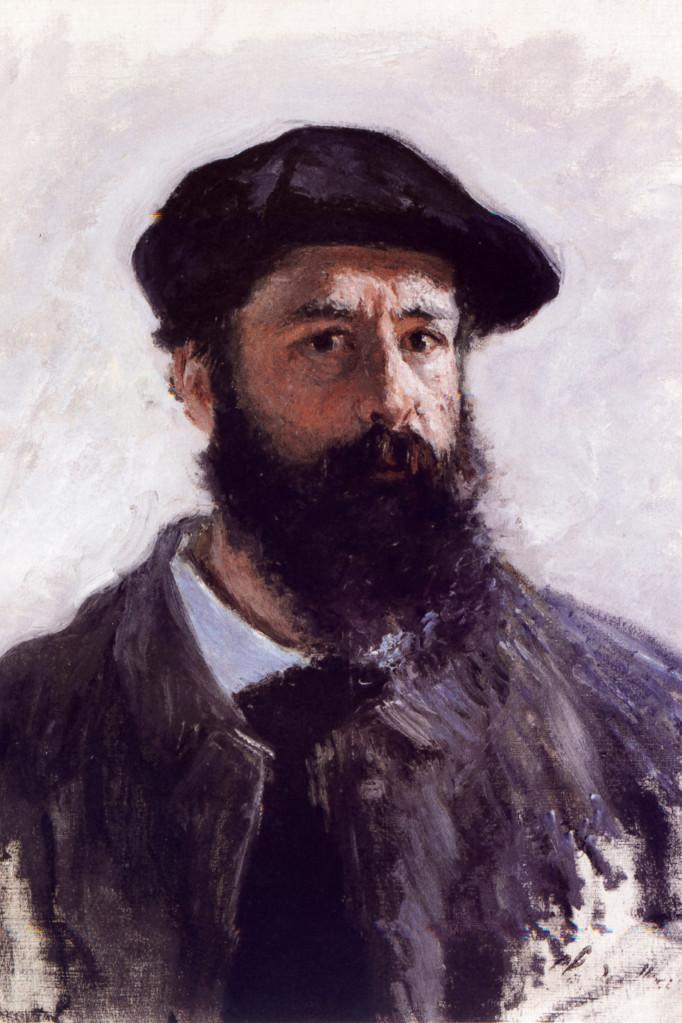 Wikimedia - Claude Monet autoportret