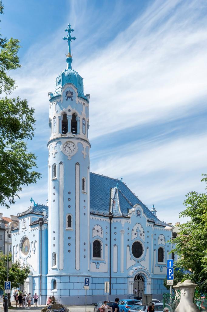 Wikimedia - Modrý kostolík