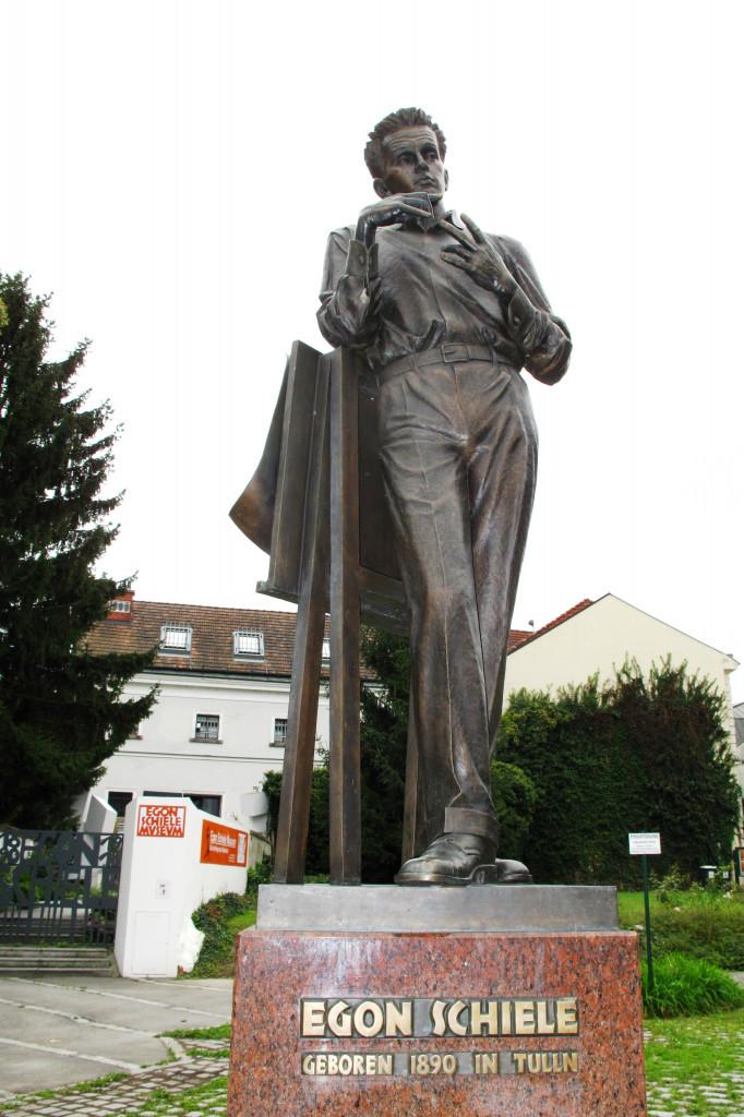 Wikimedia TULLN Figur Egon Schiele