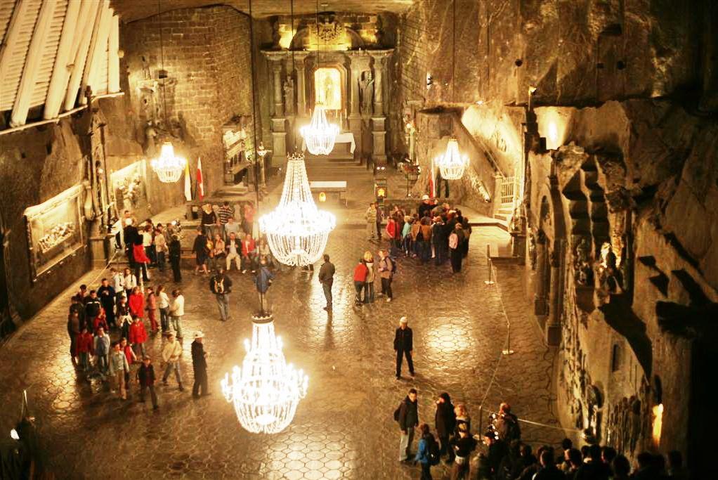 Wikimedia - Wieliczka salt mine