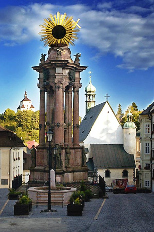 Wikipedia - Banská Štiavnica - Trojičný stĺp