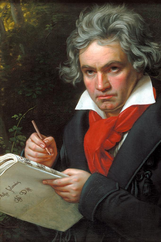 Wikipedia - Beethoven pri skladaní omše Missa solemnis