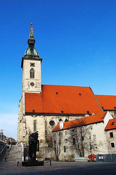 Wikipedia Bratislava - St. Martins Cathedral