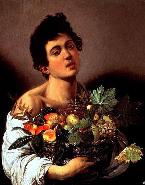 Wikipedia Caravaggio - Fanciullo_con_canestro_di_frutta_small