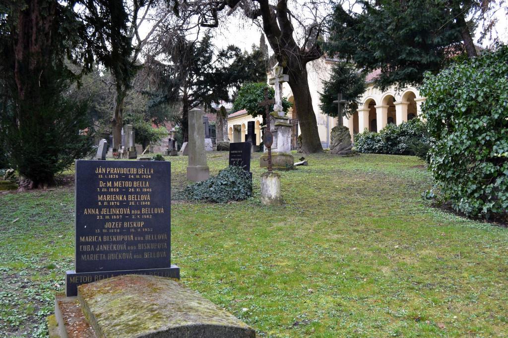 Wikipedia - Cintorín pri Kozej bráne - Bellovci