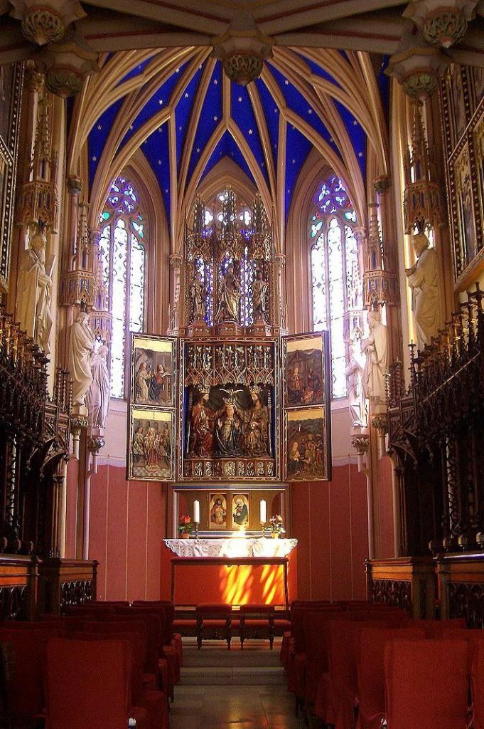 Wikipedia Grafenegg kaplnka zámku