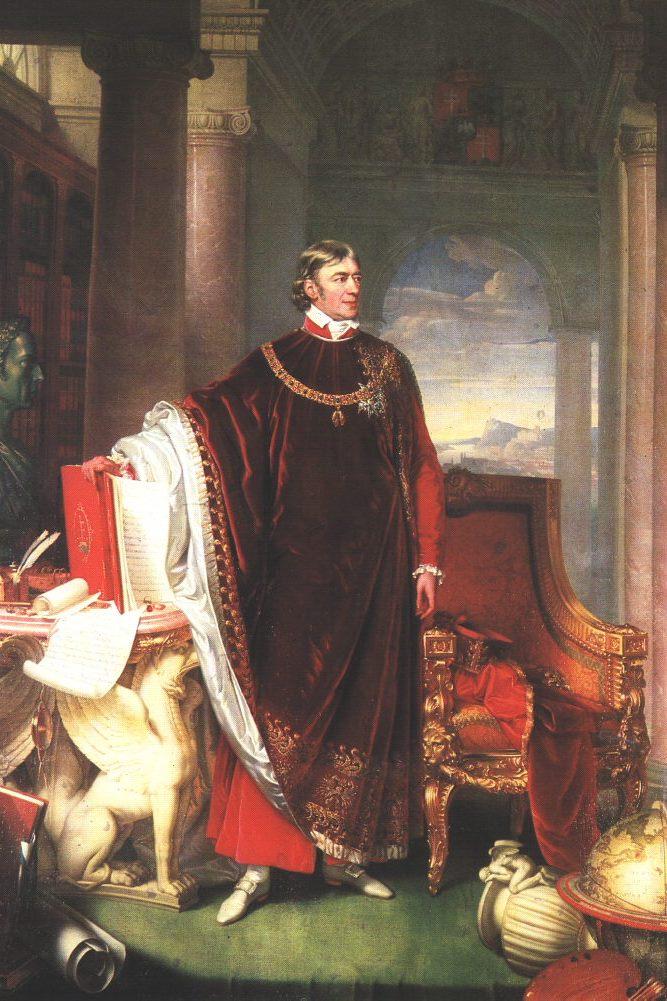 Wikipedia - Johann Ender - Portrait of Ferenc Széchényi