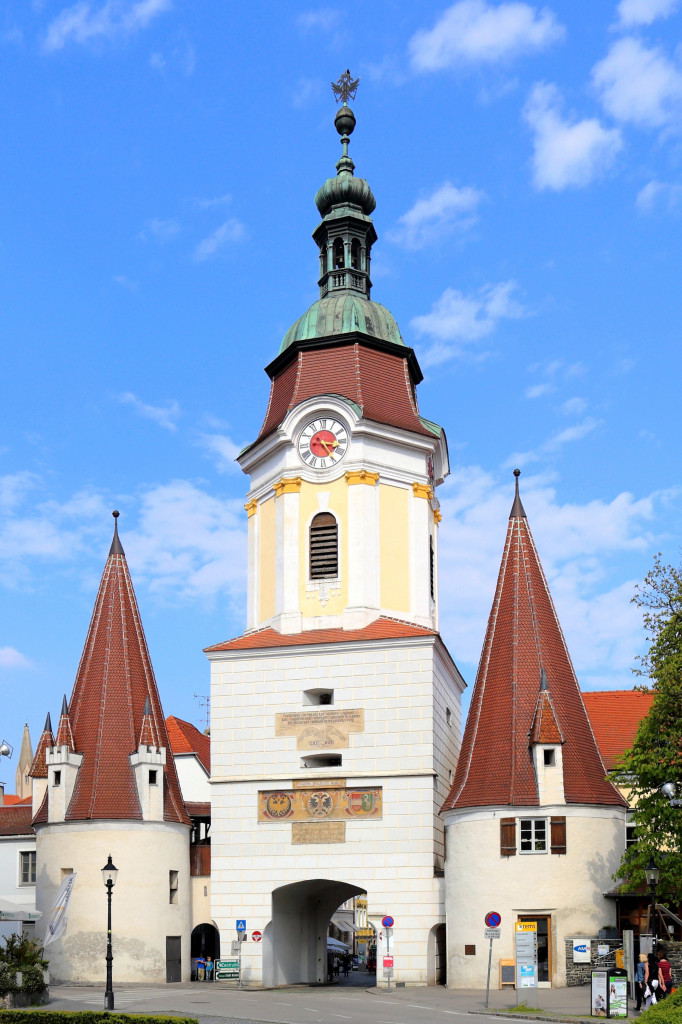 Wikipedia - Krems - kamenná brána