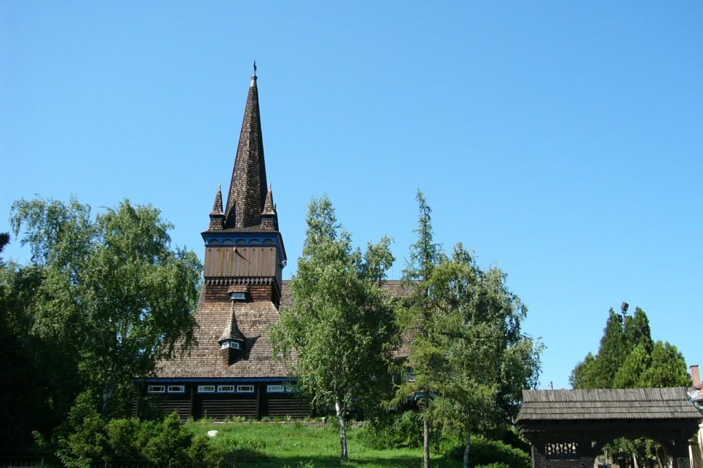 Wikipedia Miskolc drevený kostol