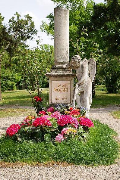 Wikipedia Mozart Grabmal Wien StMarx