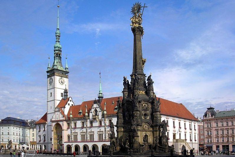 Wikipedia - Olomouc Horní náměstí