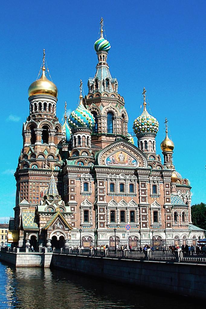Wikipedia - Petrohrad - Chrám Kristovho vzkriesenia výrez