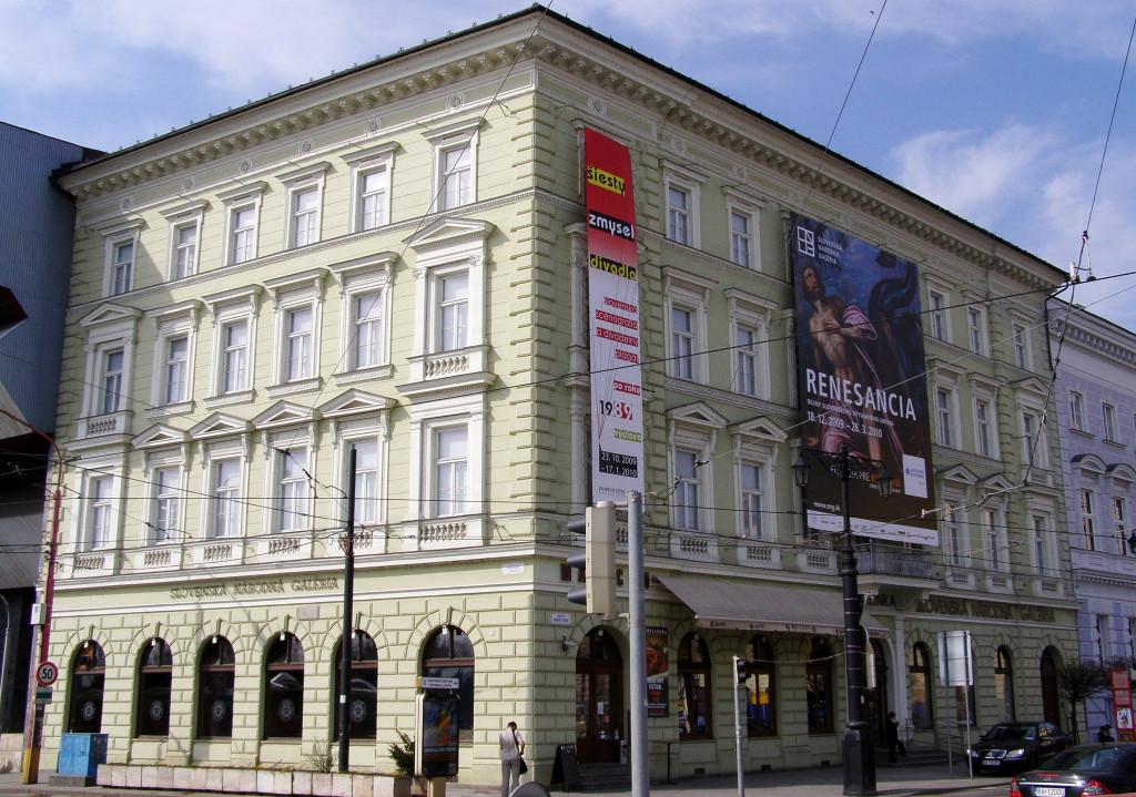 Wikipedia - SNG Esterházyho palác