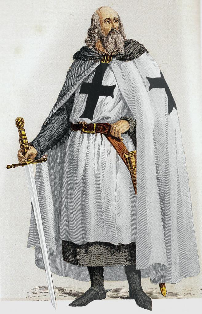 Wikipedia - veľmajster Rádu templárov - Jacques de Molay
