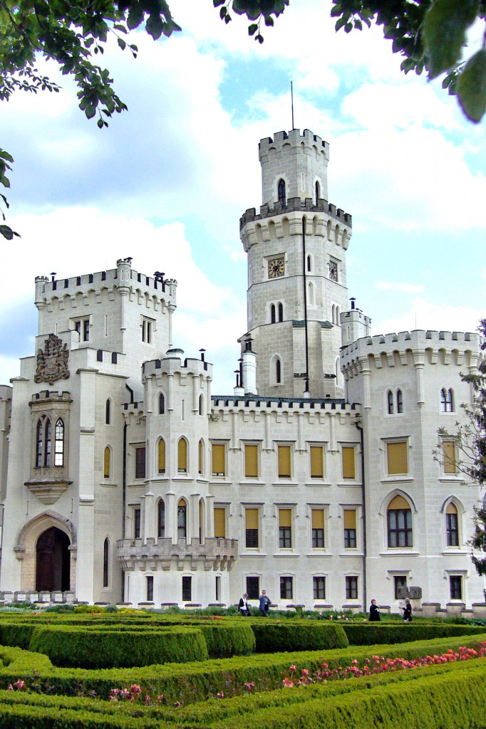 Wikipedie Замок Глубока над Влтавой - výrez