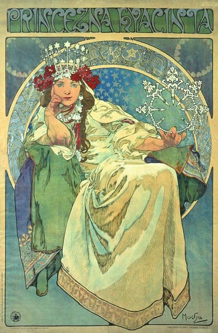 Wikipedie - Mucha Alfons - Princezna Hyacinta 1911