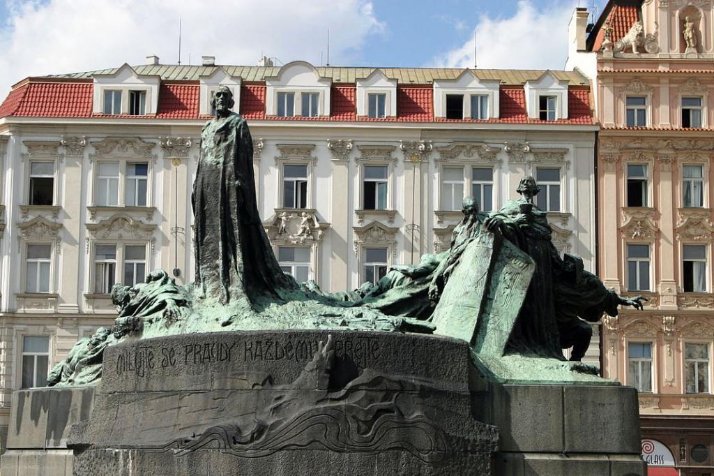 Wikipedie - PRAHA Pomnik mistra Jana Husa