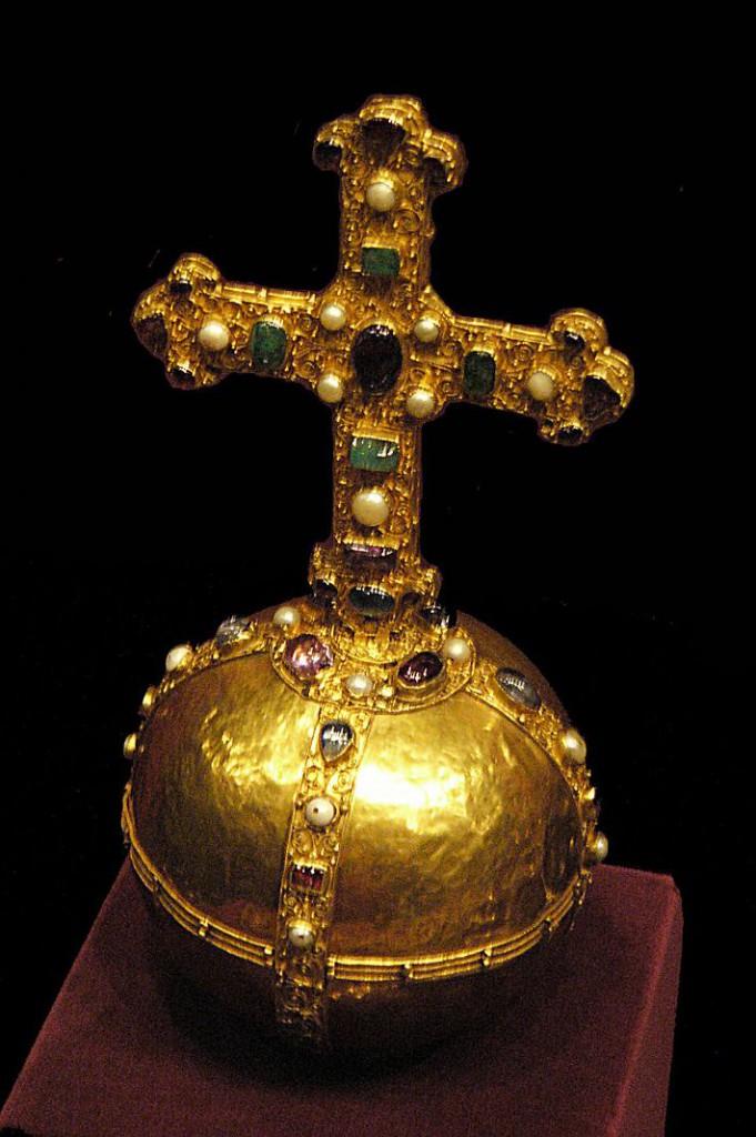 Wikiwand - Korunovacne klenoty Sv. rise rimskej - jablko