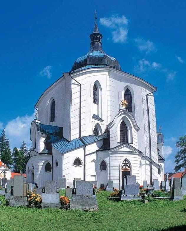 Zelena Hora - kostol